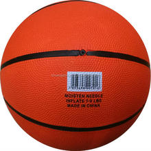 Pure eco-friendly materials high quality standard size 7 rubber basketball
