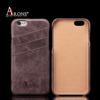 Leather back cover case premium phone case for iphone 6s case leather