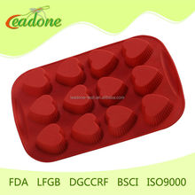 Valentine Day handmade gift Silicone mold for making dessert cake chocolate