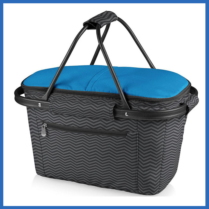 Big size waterproof collapsible market basket tote
