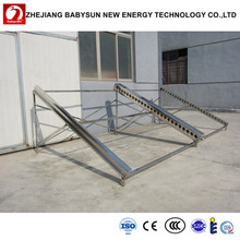 40 tubes horizontal solar manifold collector for swimming pool, hotel
