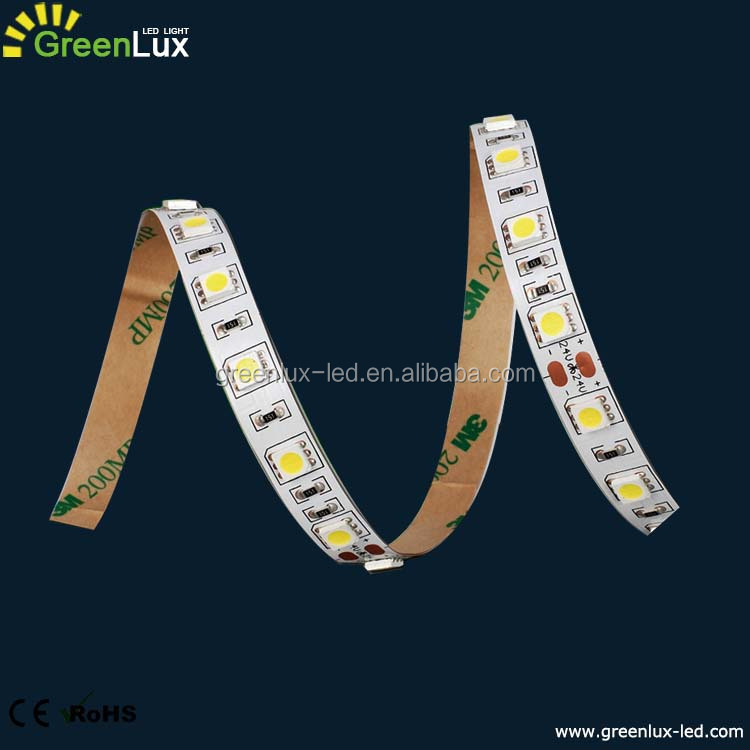 24v waterproof IP64 IP65 AC/DC 12V iluminacion luces led Epoxy flex led strip light
