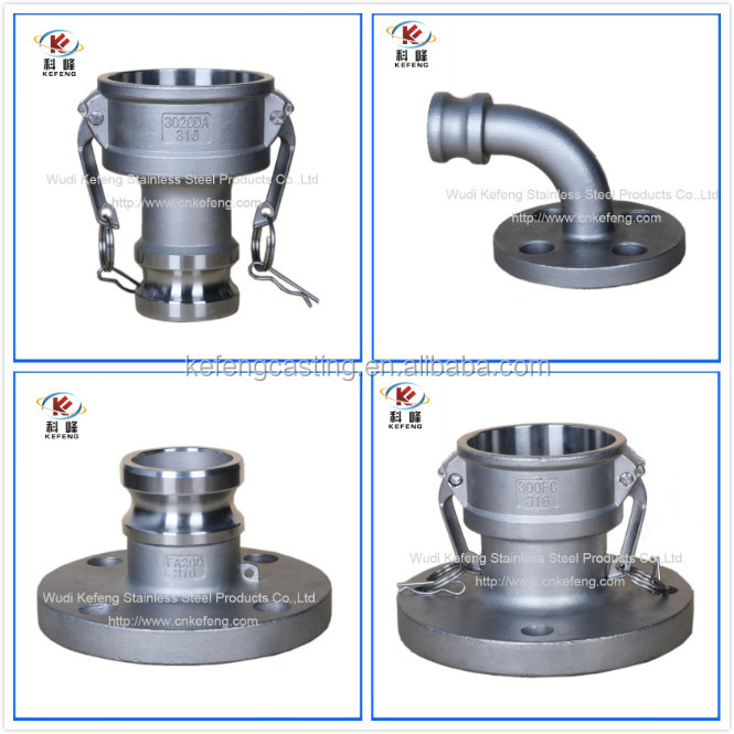 type AA stainless steel pipe fitting