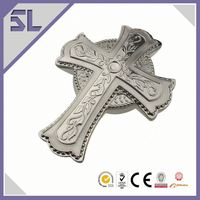 Cross Shaped Metal Jewelry Box Musical Jewelry Box Keepsake Box Wholesale Cosmetic Jewelry Boxes