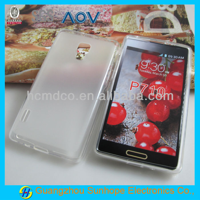 high quality matte tpu gel cover for LG Optimus L7 II P710