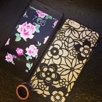 Flowers Victoria Europe sexy hollow shell phone protective cover frosted for iphone 5/5s 6/6plus