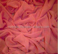 red chiffon fabric for importer