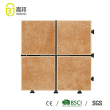Wholesale 12x12 standard size of glazed vitrified outdoor plastic flooring sheets with ceramic tiles hot sale in Dubai