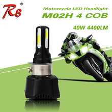R8 Cheapest RTD LED Motorcycle Headlight M02H 4COB M3 For Bajaj 150cc Pulsar Motorcycle
