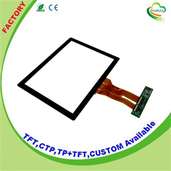 Projected capacitive type 15 inch touch screen panel with EETI driver chip