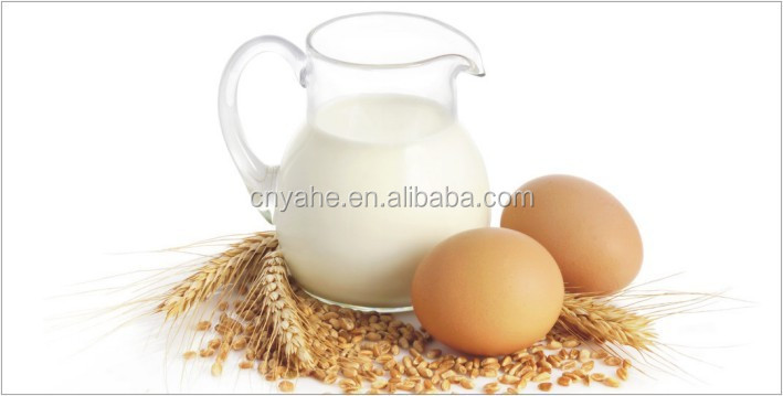 Natural egg milk flavor