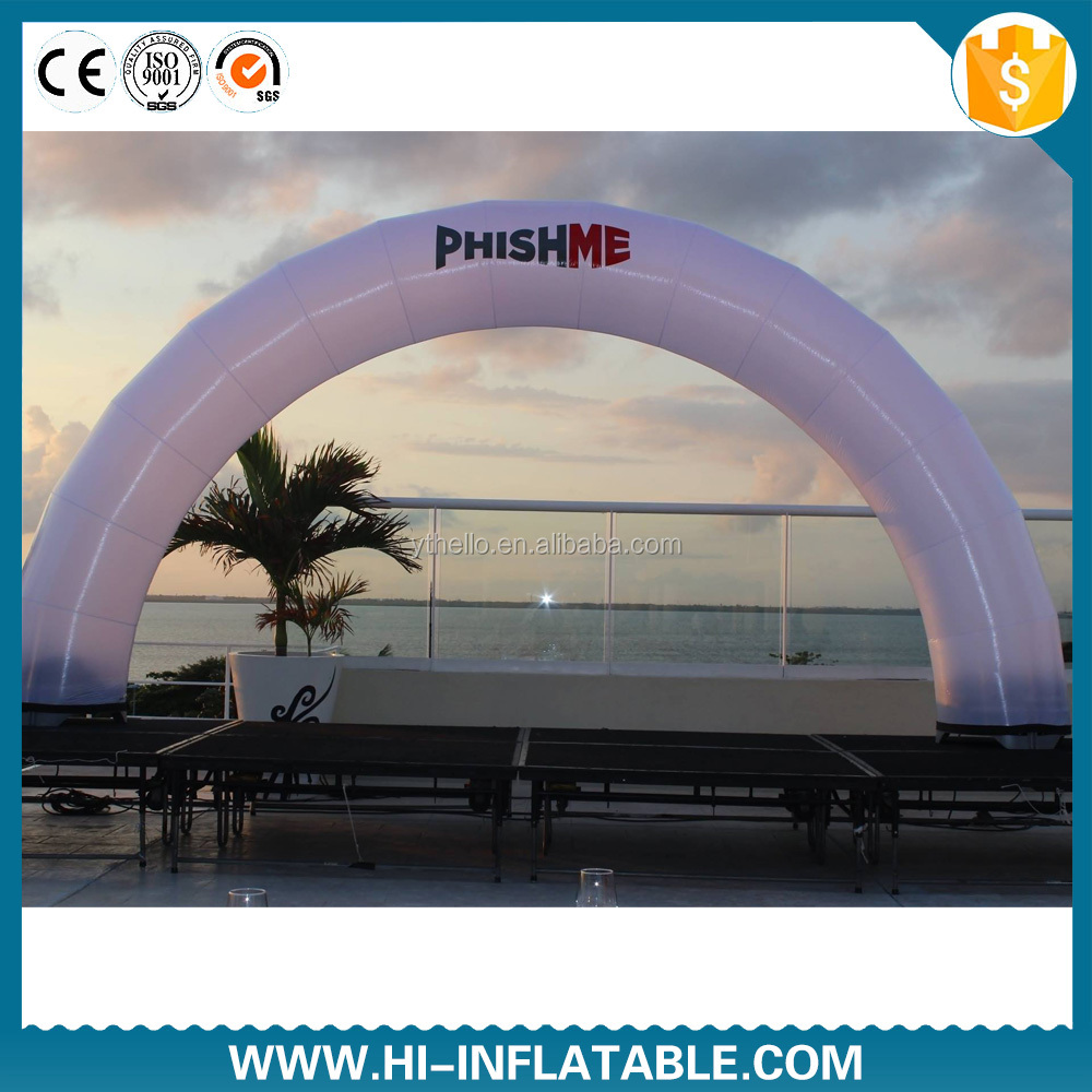 Colorful inflatable square arch for promotion/inflatable arch for gate design