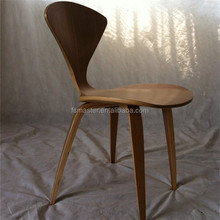 Height 85cm Plywood dining furniture Norman cherner chair