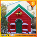 attractive inflatable Santa's grotto, Christmas inflatable house