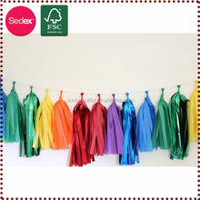 door decorative tassel garland for Hanging christmas decoration