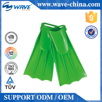 New Arrival High Quality Simple Design Kids Silicone Swim Fins