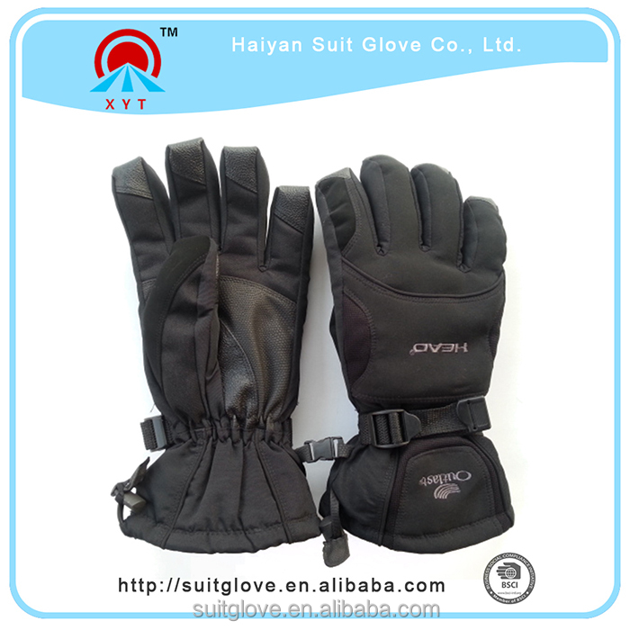 Hot china products wholeale men's racing ski gloves winter gloves