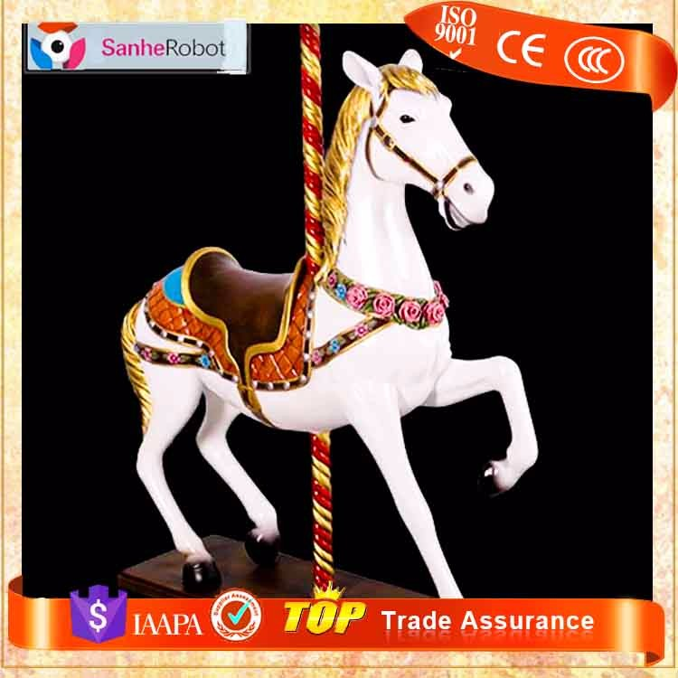 Entertainment Carrousel Horse Part Equipment electric riding horse machine