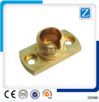 QZM-642 Hot Forging Part CNC Machining Brass Parts