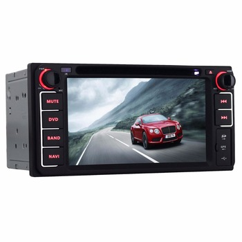 6.2 inch Special for Toyota universal Capacitive Touch Screen DVD GPS Navigation