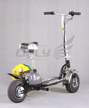 CE fold 2 wheel mini 49cc gas scooters for sale wholesale