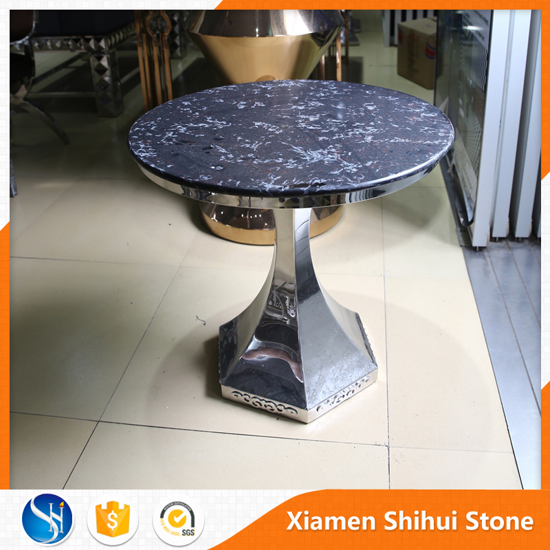 Engineering quartz blue stone table top and countertop