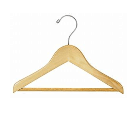 cheap price children kids wooden clothes hanger for sale