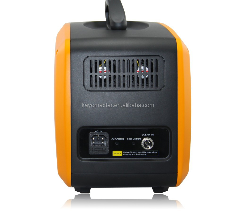 500W-3KW solar portable generator power supply lithium battery and inverter