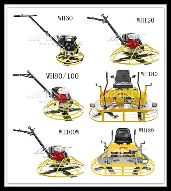 WH100W power trowel gasoline helicopter with CE