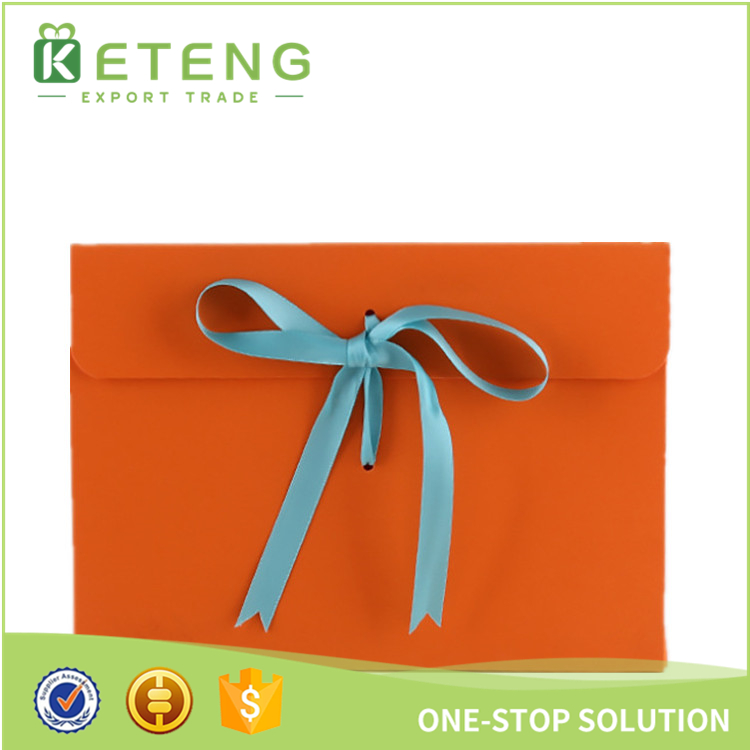 High quality cheap colored printing kraft/cardboard envelopes with string