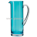 Custom Colored Glass Pitcher