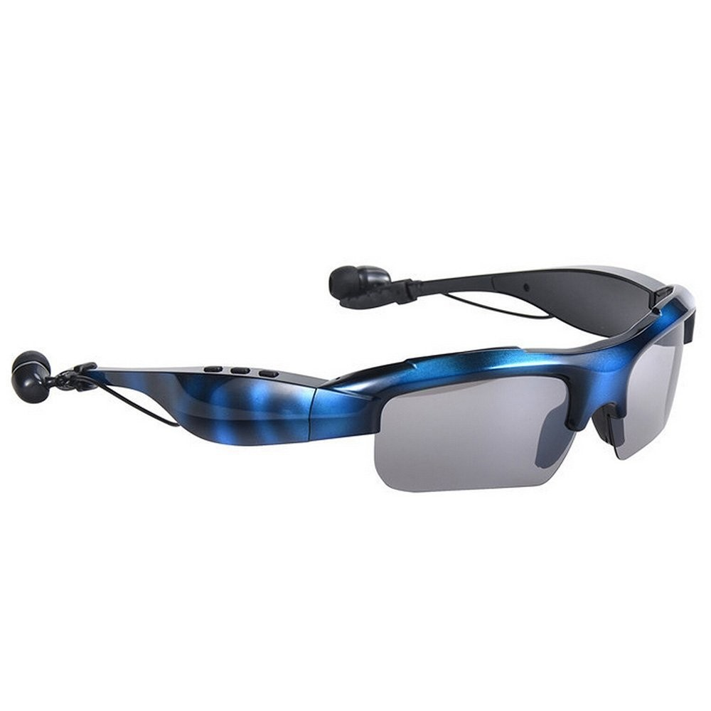 2016 New Style Cool sport sweatproof wireless fashionable bluetooth Sunglasses