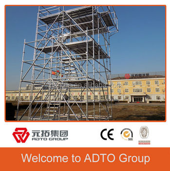Quality Products Safety Assured Ringlock Scaffolding Standard With Spigot 48.3*3.25*2000mm for africa