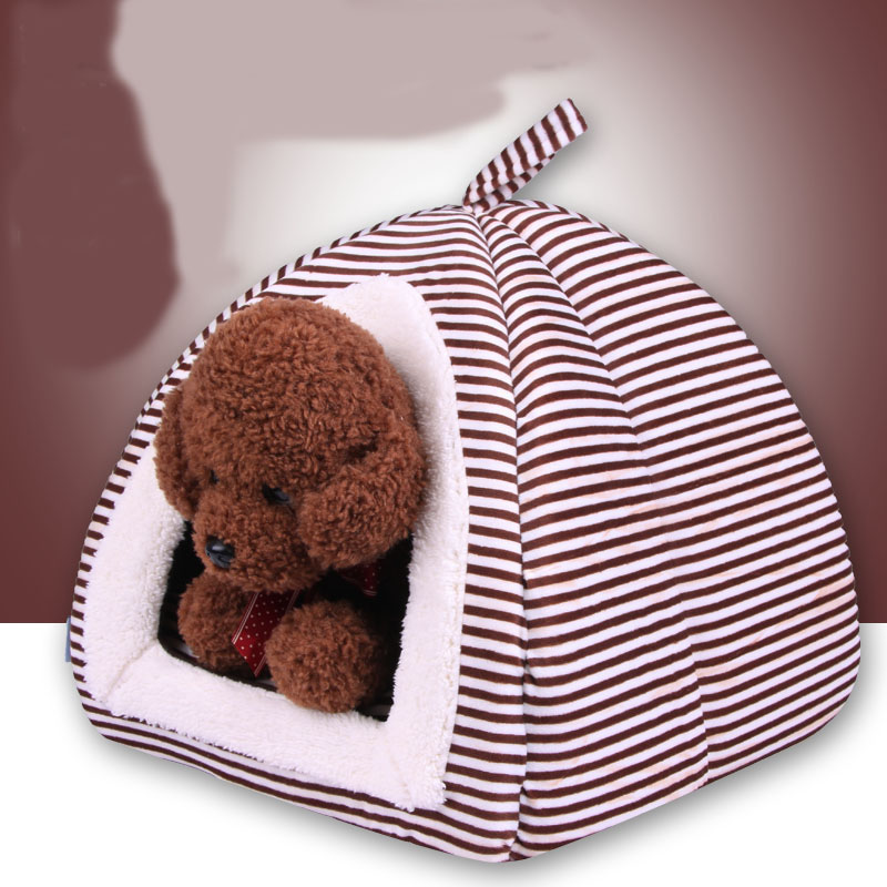 Soft Strawberry Nest Pet Dog Cat Bed House Kennel Doggy Fashion Cushion Basket