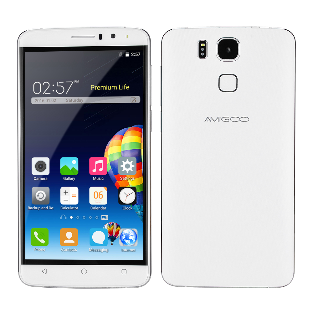 Original AMIGOO <strong>X10</strong> Cellphone 6.0'' 512M RAM+8G ROM Smartphone MTK6580 1.3GHZ Quad-core mobile <strong>phone</strong>