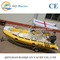 5.2m China rib boat tender boat for sale 520
