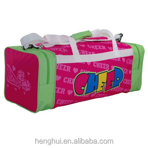 Personalized pink printing bags for athlete