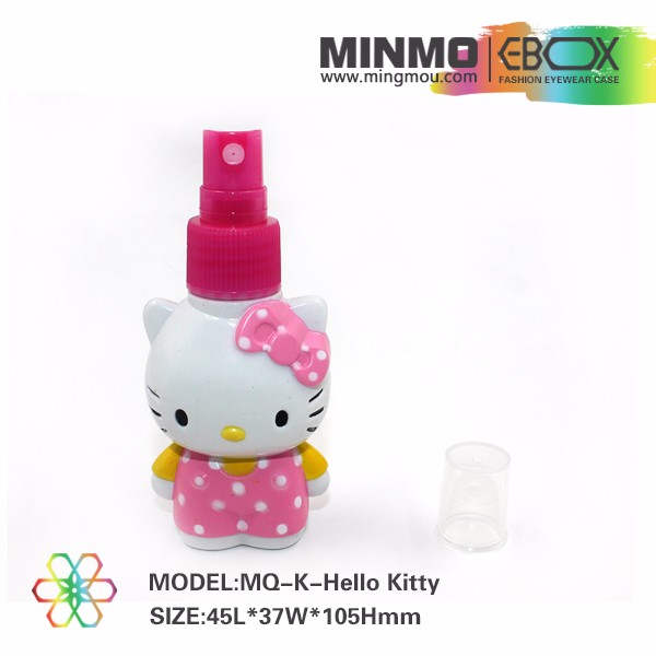 Factory wholesale lovely pink kitty digital cleaning kit, winnie bear laptop cleaning spray, eyeglasses cleaning spray