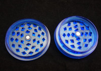 [JLH] 2 Parts Plastic Herb Grinder. We also offer Zink Alloy and Aluminum grinders, CNC herb grinders, Smoking Pipes.