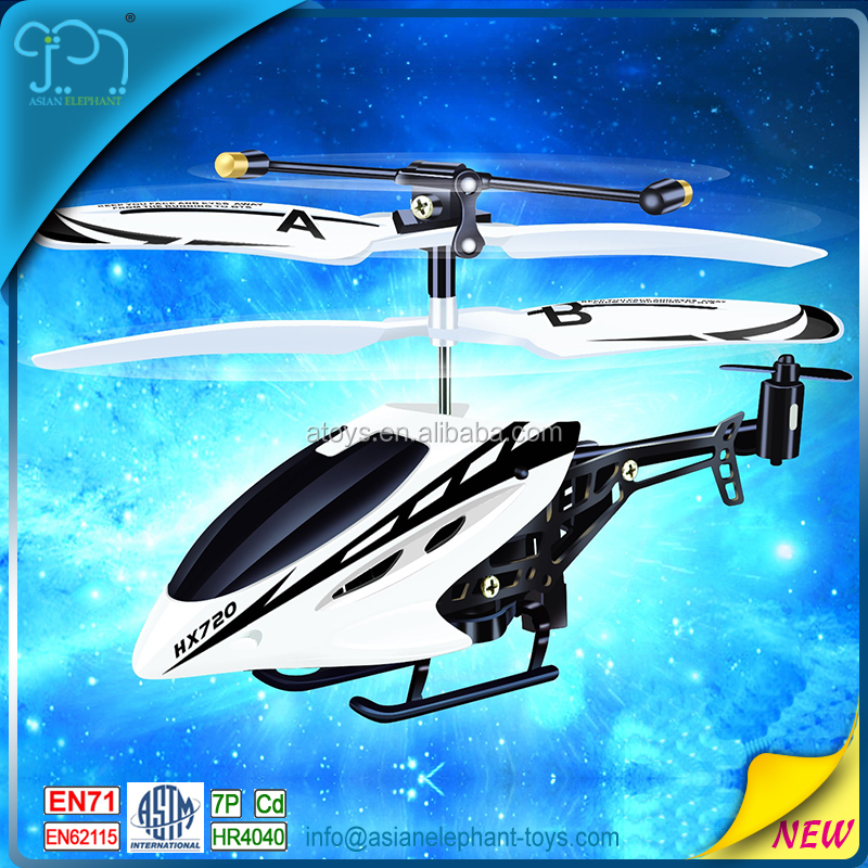 2CH Alloy Model Remote Helicopter For 2017 RC Toy Helicopter With ASTM