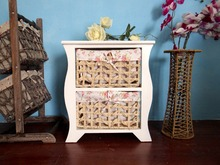 Art Storage Straw Basket Drawers Living Prefab Morocco Furniture