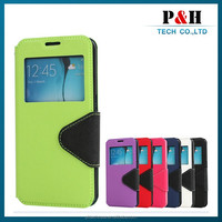 Standable leather case for Lenovo S820