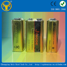 Good performance alkaline 9V battery factory directly supply