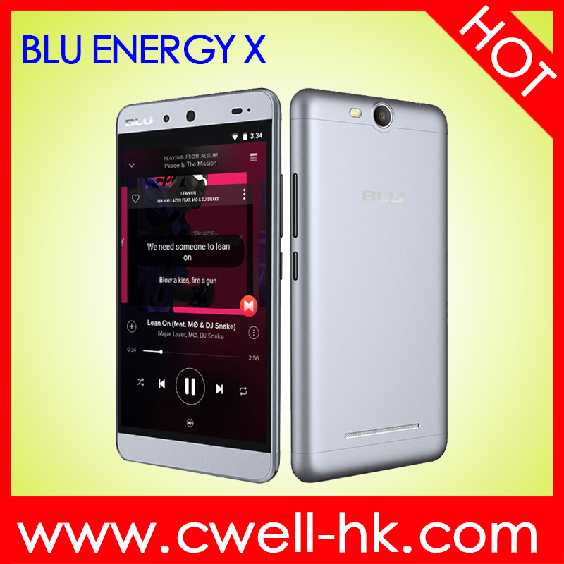 Original Dual SIM Card 5 Inch IPS Touch Screen BLU ENERGY X 1GB RAM 8GB ROM Quad Core Android 5.1 China Smartphone Unlock