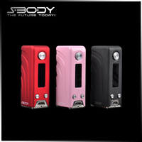 E cigarette china evolv dna 40 SBODY Elfin dna40 rubber mod