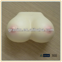 Attracted breast shaped stress ball toy