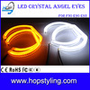 China alibaba LED auto lamp for F30 F35 Crystal angel eyes 120*128mm LED car headlight