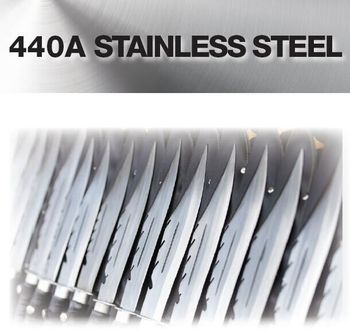 AISI 440A, UNS S44002 High-strength stainless steel sheets