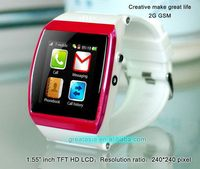 Contemporary most popular smart wrist watch tv mobile phone