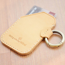 2018 New Fashion Lovely Mini Wallet Card Holder Keychain with Optional Clear ID Card Case Luggage Tag Student ID Badge Holder
